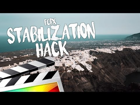 HOW TO STABILIZE YOUR VIDEOS IN FINAL CUT PRO X