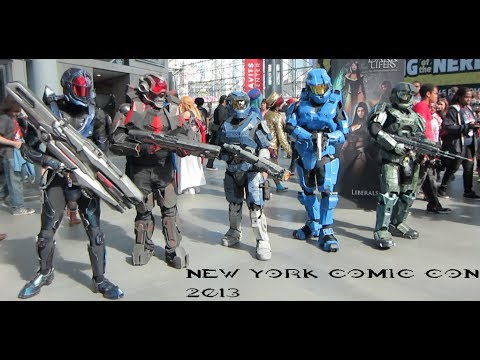 NYCC 2013 Halo Cosplay