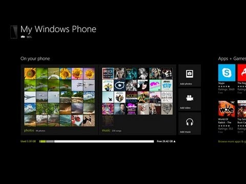 Windows Phone 8 App for Windows 8- With the Windows Phone 8X