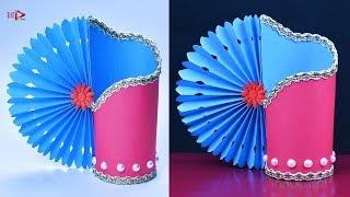 Flower Vase Making With Paper Videos 9tube Tv