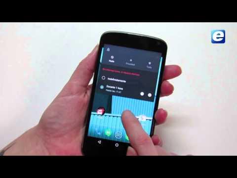 Cómo actualizar el Nexus 4 a Android 5.1
