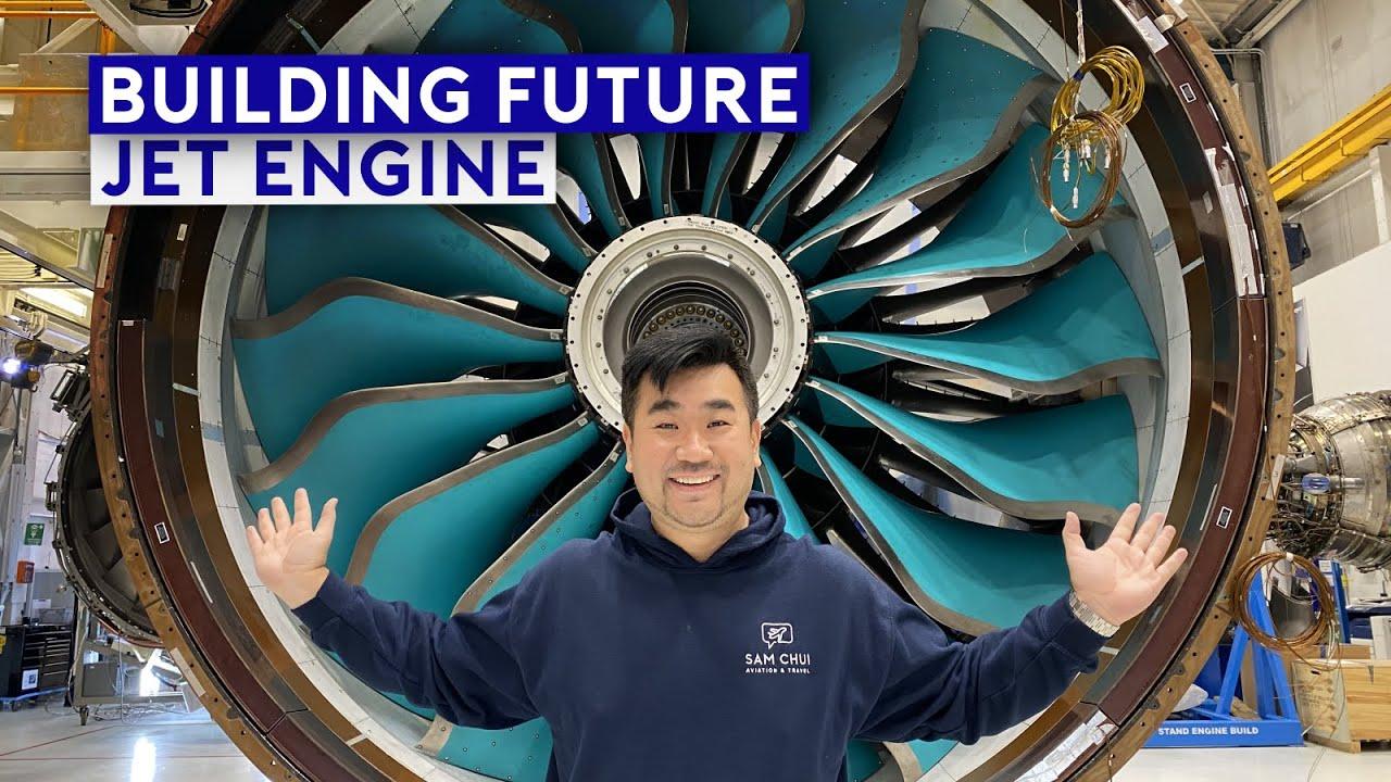Inside Rolls Royce Factory - Building Future Jet Engines