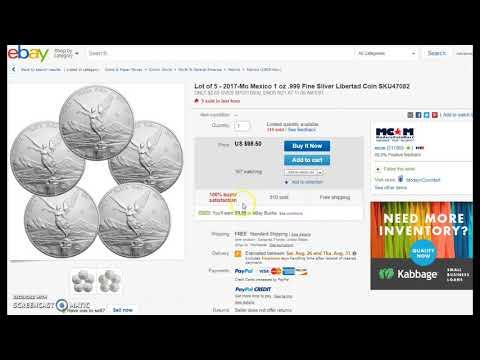 $50 off Coupon @ Govmint on $250+ Order & Libertad eBay Bucks