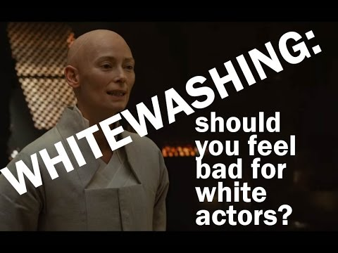 Whitewashing: Should You Feel Bad For White Actors?