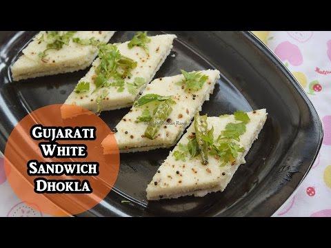 Gujarati White Sandwich Dhokla | Magic of Indian Rasoi
