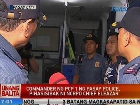 UB: Commander ng PCP 1 ng Pasay Police, pinasisibak ni NCRPO Chief Eleazar