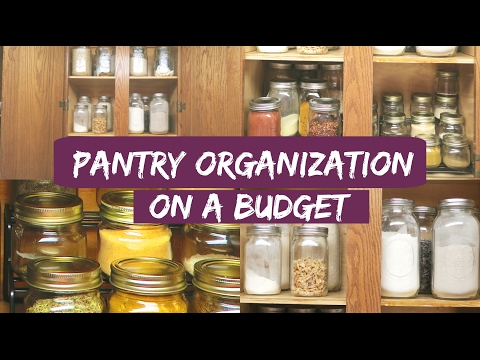 Small Pantry Organization Ideas - Organize With Me - ORGANIZE WITH KAT
