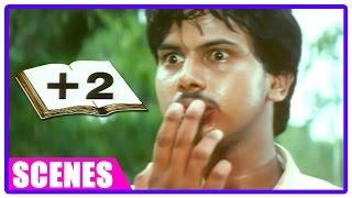 Plus 2 Tamil Movie   Scenes   Kiruthik beats his classmate at restaurant   Suja