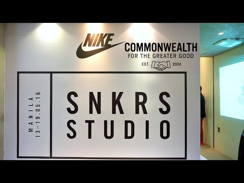 First Nike SNKRS Studio In The Philippines!!