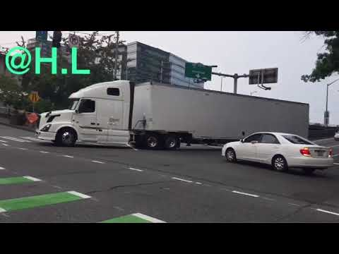 Truck Stuck In Downtown SEATTLE