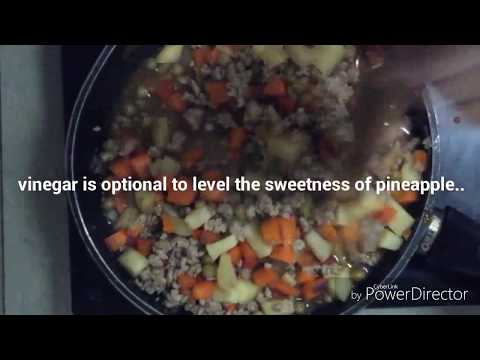 Healthier way of cooking ground pork|with potato and carrots