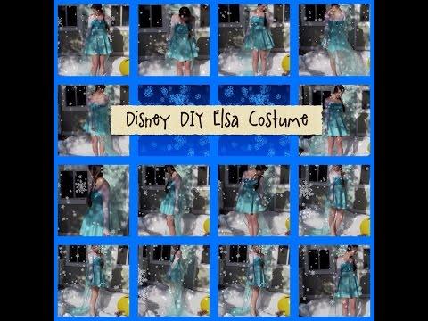 Disney DIY: Elsa Costume