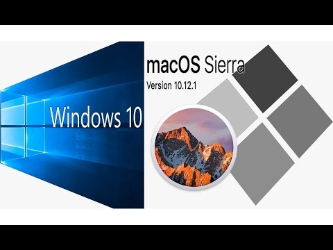 How Install Windows 10 on MAC OS Sierra 10.12.1 BootCamp without USB Drive