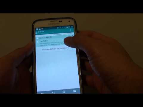Samsung Galaxy S5: How to Update Email Password