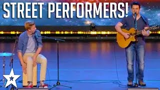 Street Performers IMPRESS Judges with ORIGINAL Song! | Got Talent Global