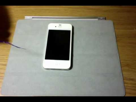 Sim Card Removal From an iPhone 4 and 4S
