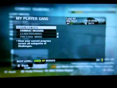 Call of Duty Black Ops (Wii) Alley Code Exchange