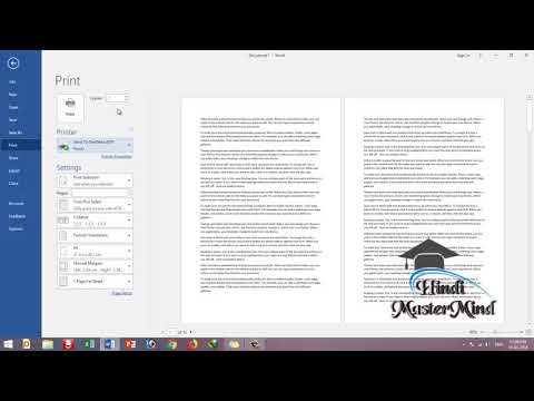MS Word - How to Print Selected Text, Selected Pages and Current Page