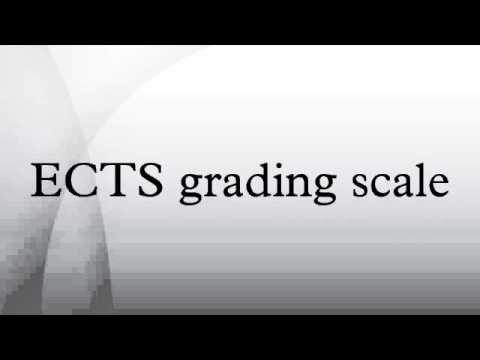 ECTS grading scale