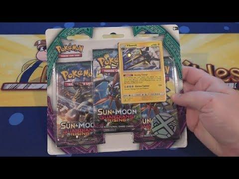 Pokemon TCG Sun & Moon Guardians Rising Vikavolt Opening