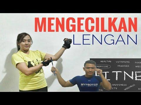 latihan gym untuk wanita menghilangkan lemak pada lengan atas glambir