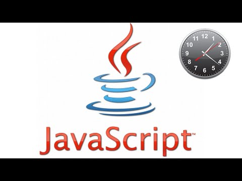 How to make a  simple clock in Javascript in 1 minute