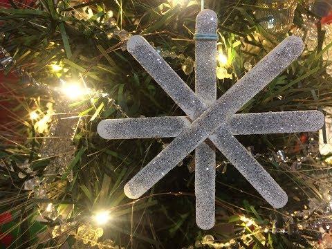 Snowflake Ornament DIY