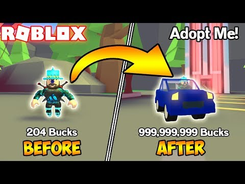 HOW TO GET LOADS OF BUCKS! (ROBLOX Adopt Me!)
