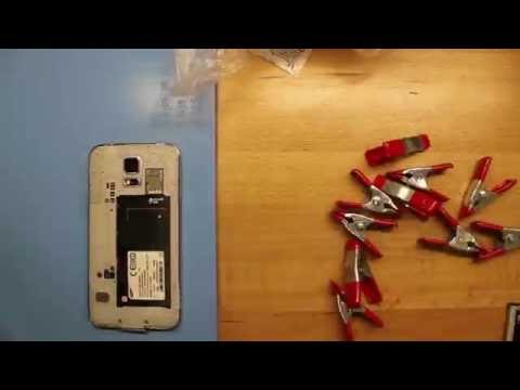 Samsung Galaxy S5 Sim Tray Replacement Time-Lapse Tutorial