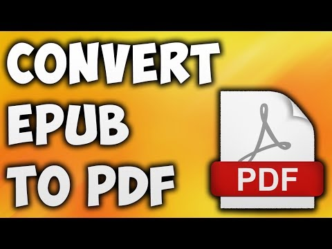 How To Convert EPUB TO PDF Online - Best EPUB TO PDF Converter [BEGINNER'S TUTORIAL]