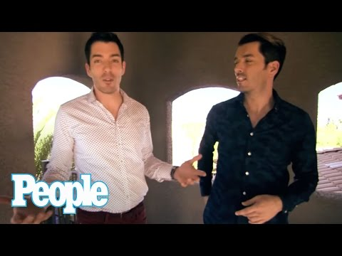 HGTV's Property Brothers' Fully Renovated House I Hollywood at Home | People
