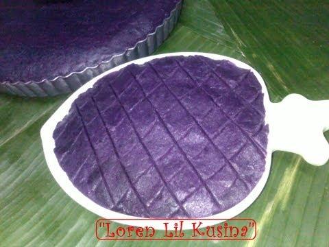 Halayang Ube or Purple Yum