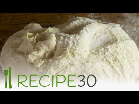 How to make perfect pizza dough recipe by hand - Recipe30