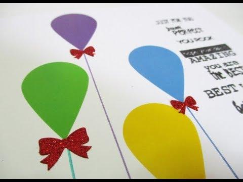 DIY : #198 Birthday Card ❤