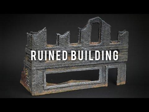 Ruined Building - Miscast Terrain - S01E02