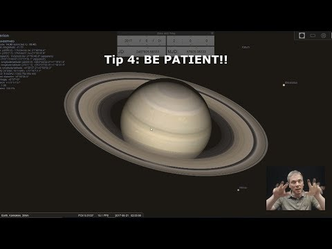 Eyes on the Sky: How to observe Saturn in a telescope