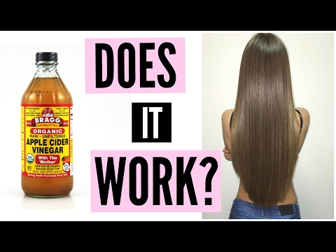 Amazing Hair With Vinegar? RESULTS!