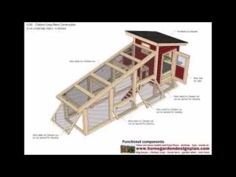 How To Build A Small Poultry House - How To Build A Chicken Coop Out Of Pallets