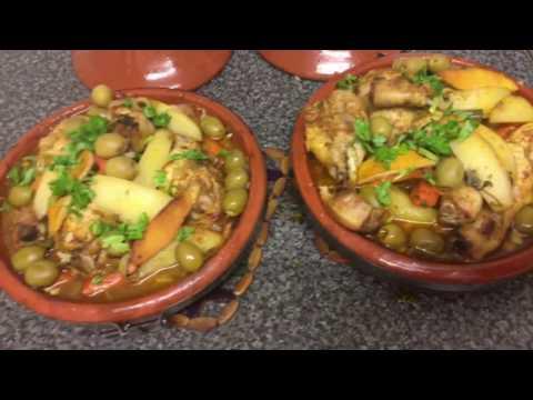Moroccan Chicken Tagine / Tajine | How To Make Tagine