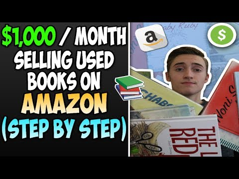 How To Make $1,000 A Month Selling Used Books On Amazon FBA | STEP-BY-STEP Beginners Guide