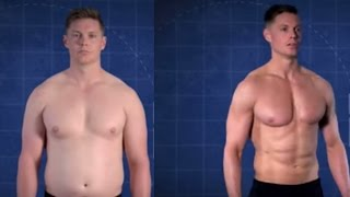 How To Lose Weight | Trainer Gains And Loses 60 Pounds In