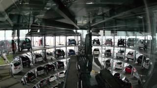 Autostadt -  CarTower Discovery / TurmFahrt - Für Abholer ein absolutes Muss!