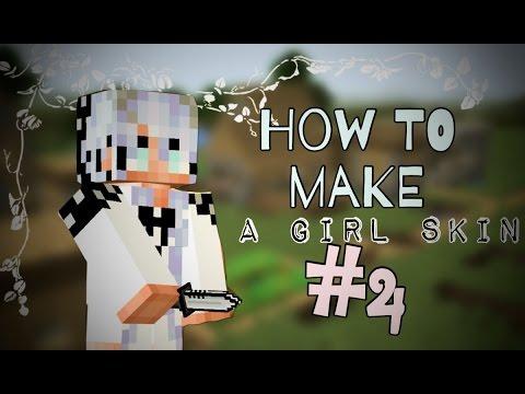 Pixel Gun 3D - How to Make a cute girl Skin #4