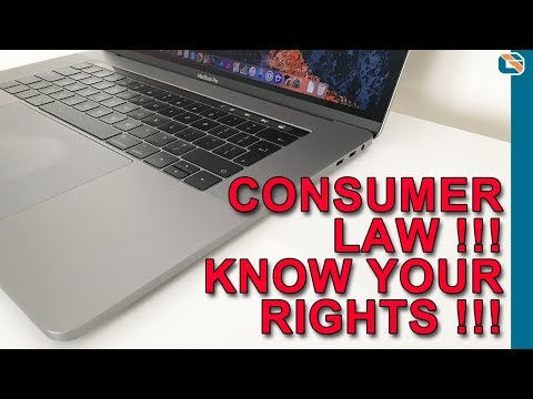 Apple Refused to Replace my Laptop - How to Win with Consumer Law
