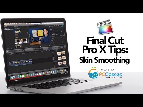 Final Cut Pro X Tips: Skin Smoothing [Photoshop for Video]