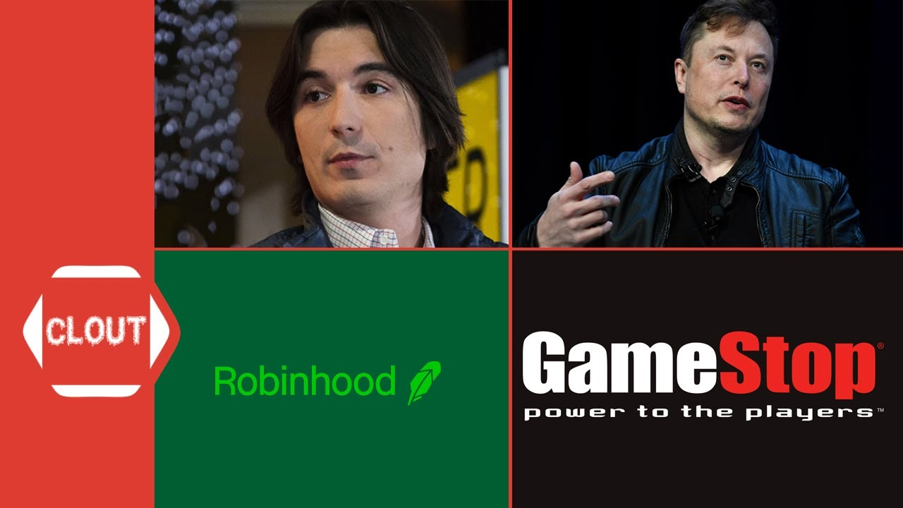 Elon Musk Confronts Robinhood CEO Vlad Tenev For Gamestop & Other Stocks Trading Halt On Clubhouse!