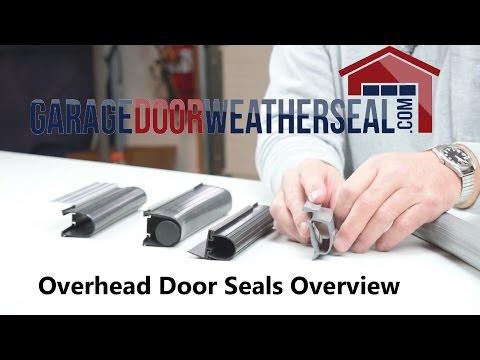 Overhead Door Seals Overview