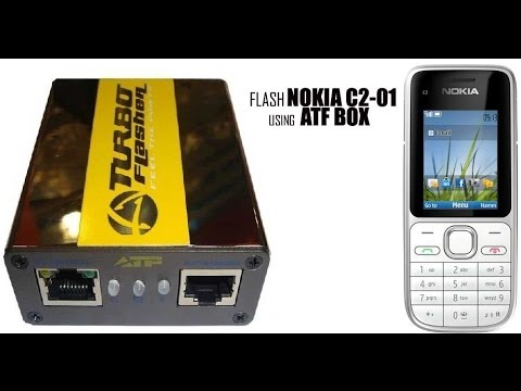Flash Nokia C2-01 with ATF Box