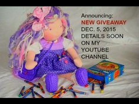 Cloth Doll december contest