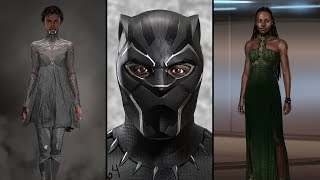 'Black Panther' Costumes Merge African History With Afrofuturism | NYT